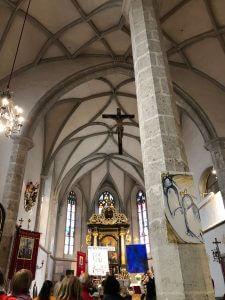 Ausstellung Pfarrkirche Weißkirchen